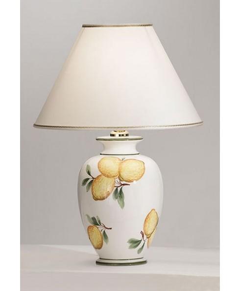 Vasen- und Hockerleuchte GIARDINO-LEMONE