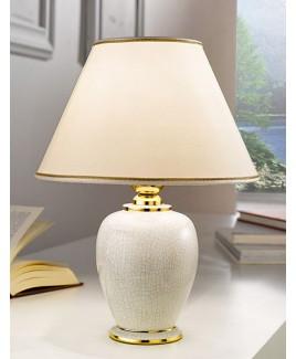 Vasen- und Hockerleuchte GIARDINO CRACLE